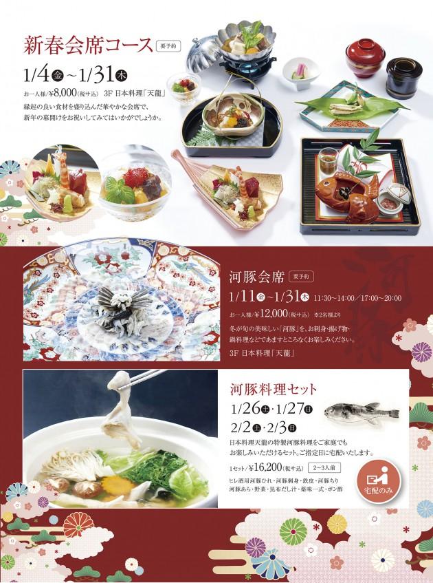201901 新春・河豚